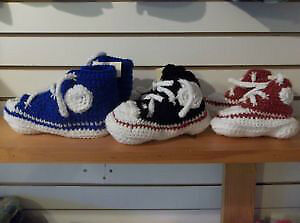 Locally Hand Made Sneeker Look Alike Slippers