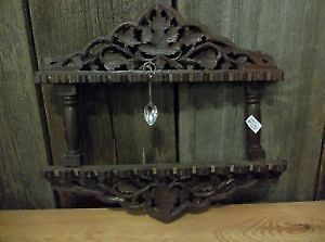 Carved Wooden Spoon Rack