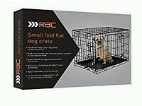 Small flat folr dog crate
