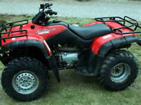 Reliable Honda Quad priced to sell