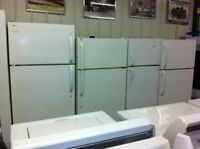 "WHITE 24"", 27"", 30"" to 33""  FRIDGES  - USED APPLIANCE SALE"