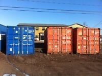 Used Sea Containers - Free Shipping on 40' Containers in Moncton