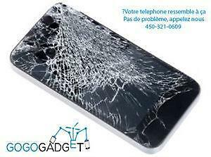Specialiste de la reparation de telephone cellulaire sur la Rive Sud iPhone, iPad, Ipod, Samsung Galaxy, LG, NEXUS etc