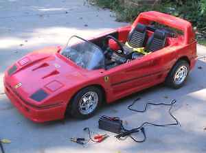 LOOKING FOR - any power wheels -  Porsche 911 & ferrari F40 London Ontario image 5