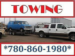 DO YOU NEED A TOW? WE ARE THE PEOPLE TO CALL 780-860-1980