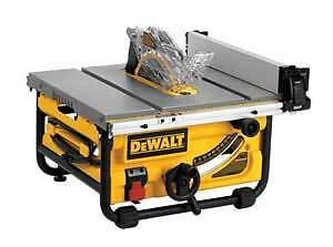 WANTED: DEWALT TABLE SAW