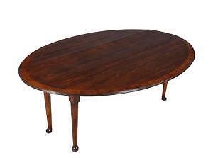 Superior Antique Cherry Drop Leaf Table