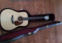 Guitar Acoustique Boucher Spruce Goose 2006, presque neuf