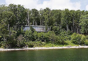 Executive Waterfront home on Lake Bras D'Or