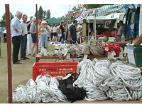 Outboards, Winches & Rope at the Portsmouth Boat Jumble Sunday 21st August.