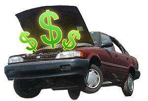 Achetons Auto Pour Scrap et Pieces TOP PRICE $$