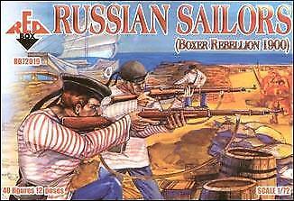 Red Box 1/72 Russian Sailors Boxer Rebellion 1900 # 72019