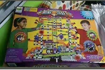 Mineshaft mable construction game