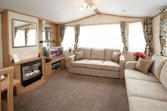 Great value static caravan for sale on 4* holiday park in Highlands