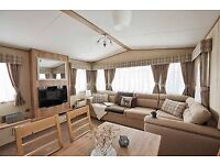 Luxury two bedroom static Caravan, wheelchair friendly, on award winning site on the perfect pitch