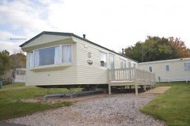 3 Bed Static Caravan on lovely Holiday Park in Dawlish, Devon, Free 2017 Fees, Decking & Parking