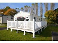 For Sale, Fantastic 3 Bed Nearly New static caravan with wrap deck, Dawlish Warren, Devon