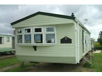 Double glazed & Central heated static caravan for sale in Hunstanton