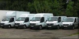Short notice 24/7 from £15/h man and van removal/delivery service man with van motorbike recovery