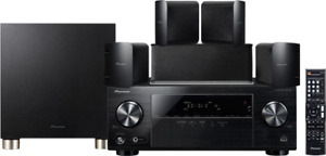 Pioneer (HTP 074) 5.1 Channel Home Theater Package, Black​