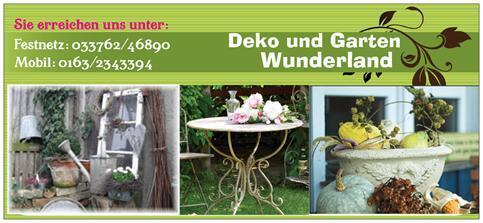 Deko und Garten Wunderland