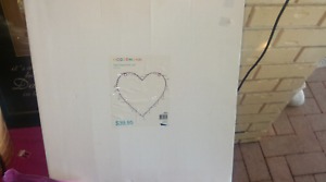 Light up battery operated heart Maryborough Fraser Coast Preview