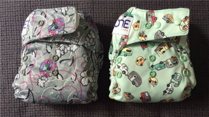 2x Grovia ONE All-in-one Nappies