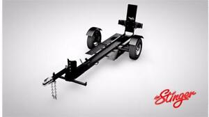 Stinger XL112 - Stinger Folding Motorcycle Trailer. Includes Spare Tire, Strap Kit, and Free Shipping!