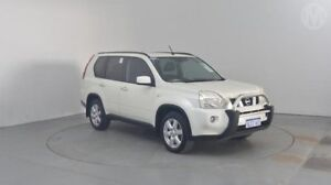 2010 Nissan X-Trail T31 MY10 TS (4x4) White Diamond 6 Speed Automatic Wagon Perth Airport Belmont Area Preview