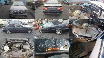 BMW 3-Series Convertible E46 DISMANTLING PURPOSES ONLY (98-05) Girraween Parramatta Area Preview
