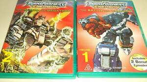 Transformers Energon volume 1 and 2 Blacktown Blacktown Area Preview