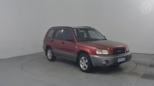 2004 Subaru Forester MY04 XS Code Red & Grey 4 Speed Automatic Wagon Perth Airport Belmont Area Preview