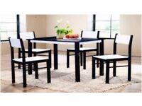 *** New Dining Table with 4 Chairs.