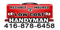 √LOW COST AND EFFECTIVE HANDYMAN•••