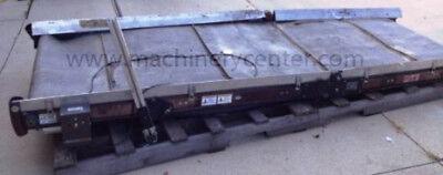 35 X 111 Used Ims Cleated Belt Adjustable Conveyor