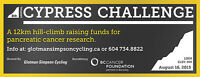 Volunteer at Cypress Challenge, benefiting BC Cancer Foundation