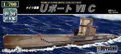 Doyusha 301104 Chinese Pla Navy Type 033 Submarine 1700 Scale Kit