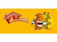 FUNHOUSE COMEDY CLUB - EDINBURGH FESTIVAL PREVIEW ALL-DAYER IN SHEFFIELD AUGUST 2021