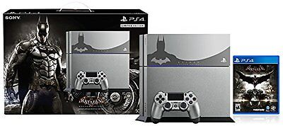 NEW Sony PlayStation 4 500GB Console Batman Arkham Knight Bundle Limited Edition