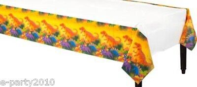 DINOSAUR PREHISTORIC PARTY PAPER TABLE COVER ~ Birthday Supplies Decorations - Prehistoric Party Supplies