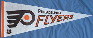 Philadelphia Flyers (NHL) hockey pennant