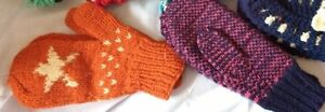 ladies knitted shawls,Knitted Mitts etc London Ontario image 4