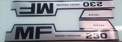 Massey Ferguson 230 Hood Decals