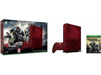 Xbox One S 2TB Gears of War 4 Limited Edition Bundle - Brand new sealed.