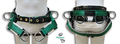 Buckingham Tree Climber Saddle 4 D Rings Wide Padded Leather Backsl Xl