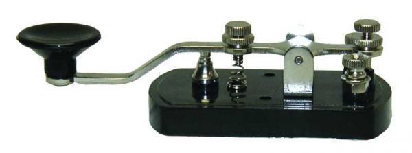 MFJ-550 Telegraph Straight Key for Morse Code
