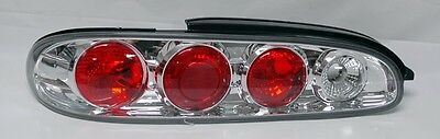 Clear Altezza Tail Lights Fits Mazda MX6 (97 Mazda Mx6 Tail)