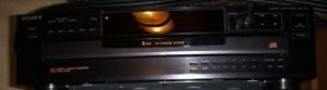 SONY CDP-345 5 DISC CD PLAYER