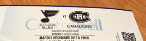 Billet Canadiens zone desjardins