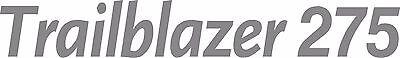 Miller Welder Trailblazer 275 Decal Sticker - Set Of 2 - Silver